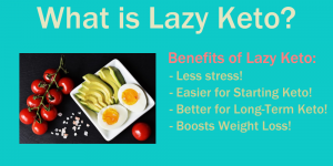 The Benefits of a Lazy Keto Diet! Brought to you by LowCarbAndKetoMeals.com!