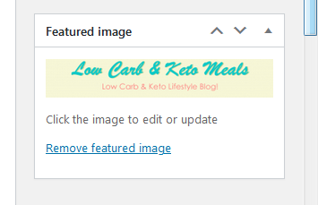 Featured Image Box