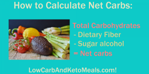 How to Calculate Net Carbs! Brought to you by LowCarbAndKetoMeals.com!